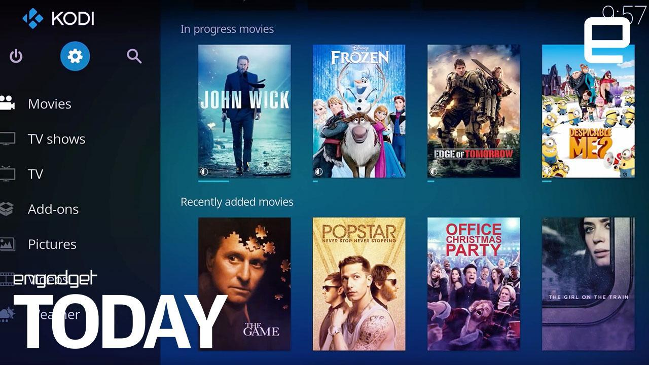 Hollywood strikes back against illegal streaming Kodi add-ons
