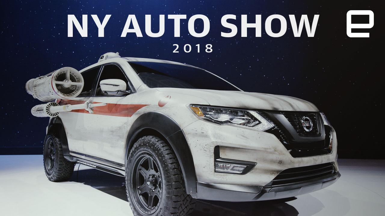 What You Might Have Missed From The New York Auto Show - Ny car show tickets