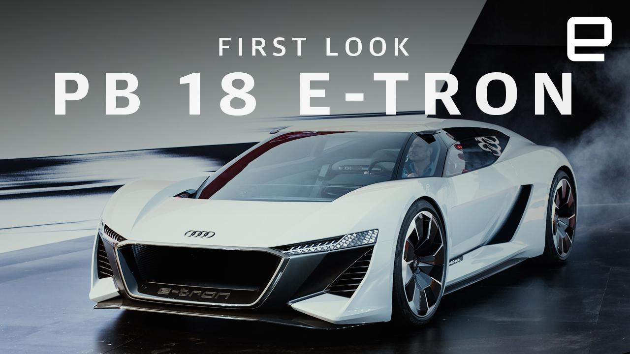 Audis PB ETron Is A Supercar Spaceship - Audi super car