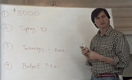 Video of Steve Jobs with his NeXT team circa 1985