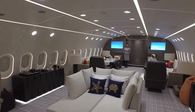 Einmalig auf der Welt: Boeing 787 Dreamliner als Luxus-Privatjet
