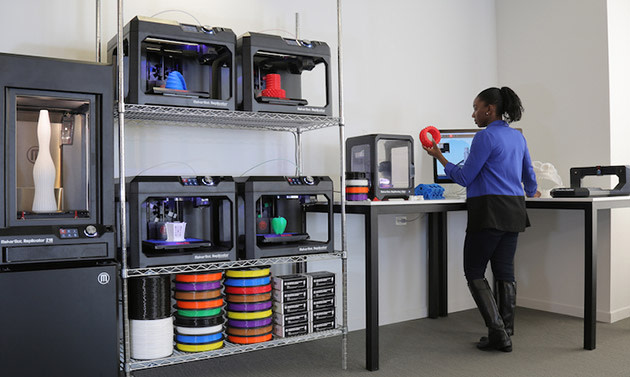 Makerbot makes it easy for schools and businesses to start for 3d printing kitchen cabinets