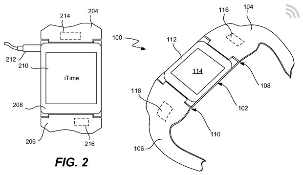 Apple 'iTime' patent details a modular smartwatch with