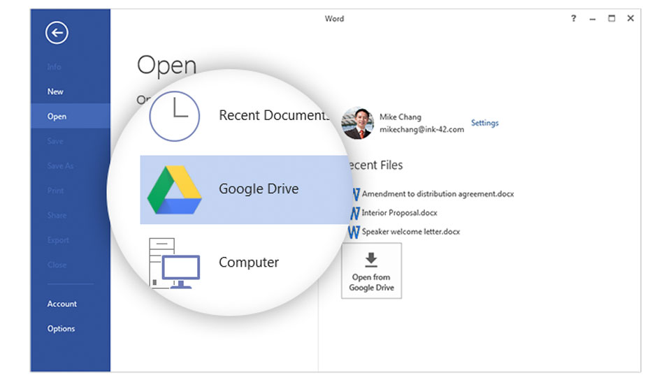 how to save a file to google drive