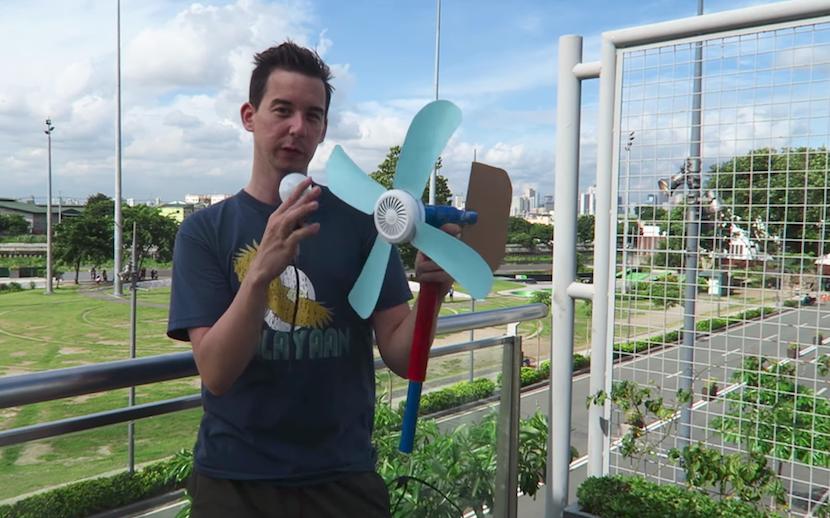 Strom to go: DIY-Windturbine