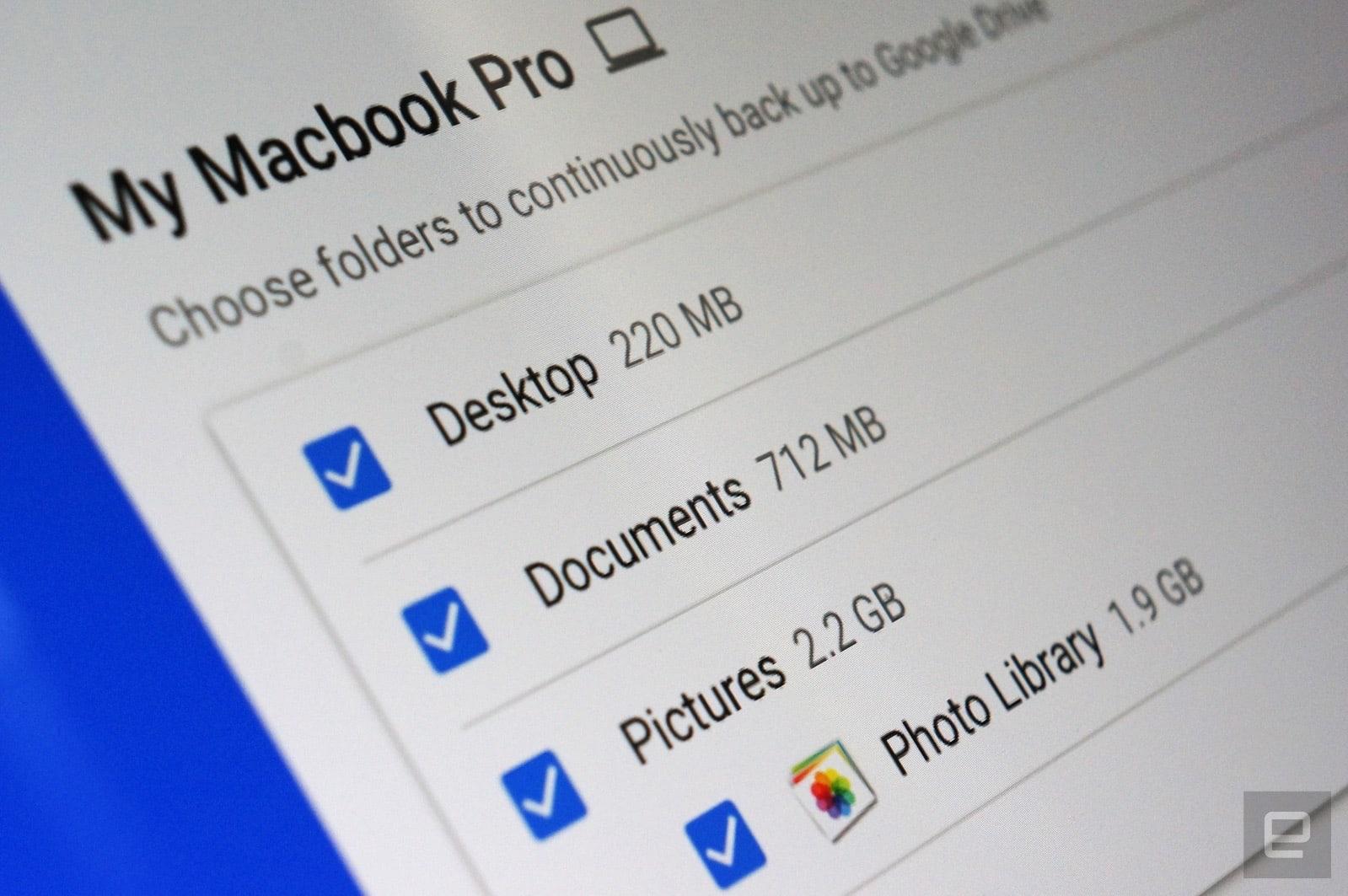 Update google drive for mac