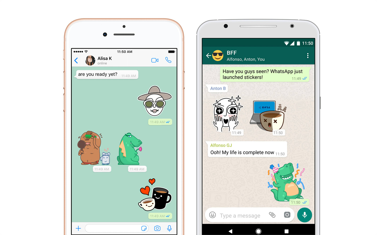 Image result for Whatsapp sticker feature now available on Android and iPhones (iOS): How to use or send Whatsapp stickers