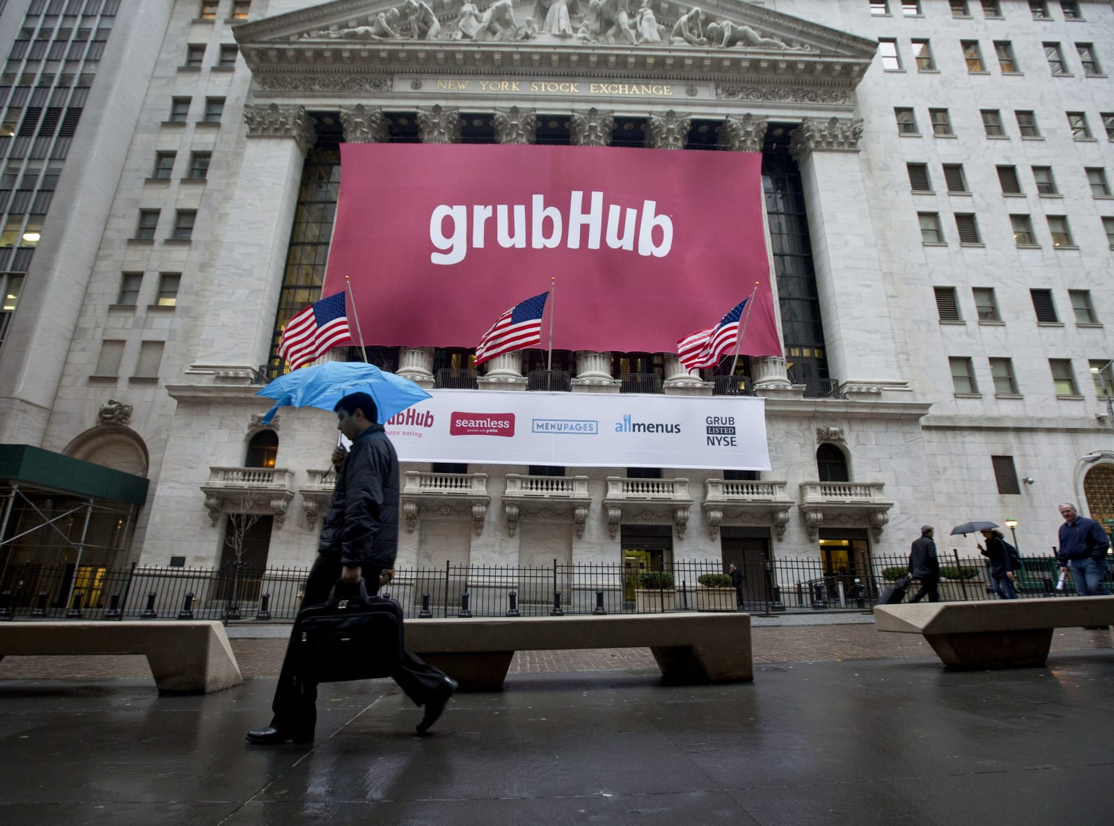 Image result for GrubHub and Yelp now offer delivery from over 80,000 restaurants