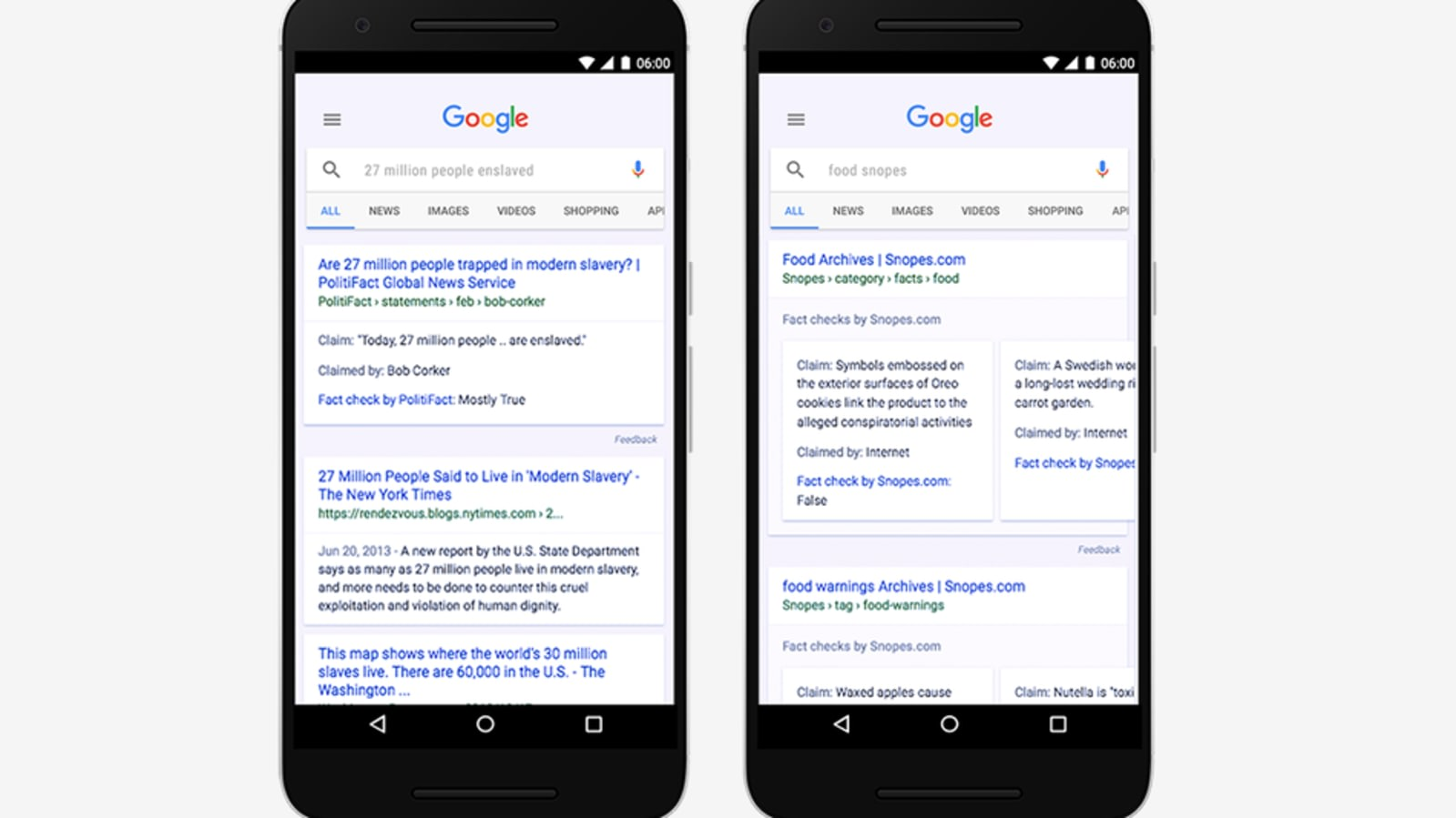 Google considers load times in mobile search rankings