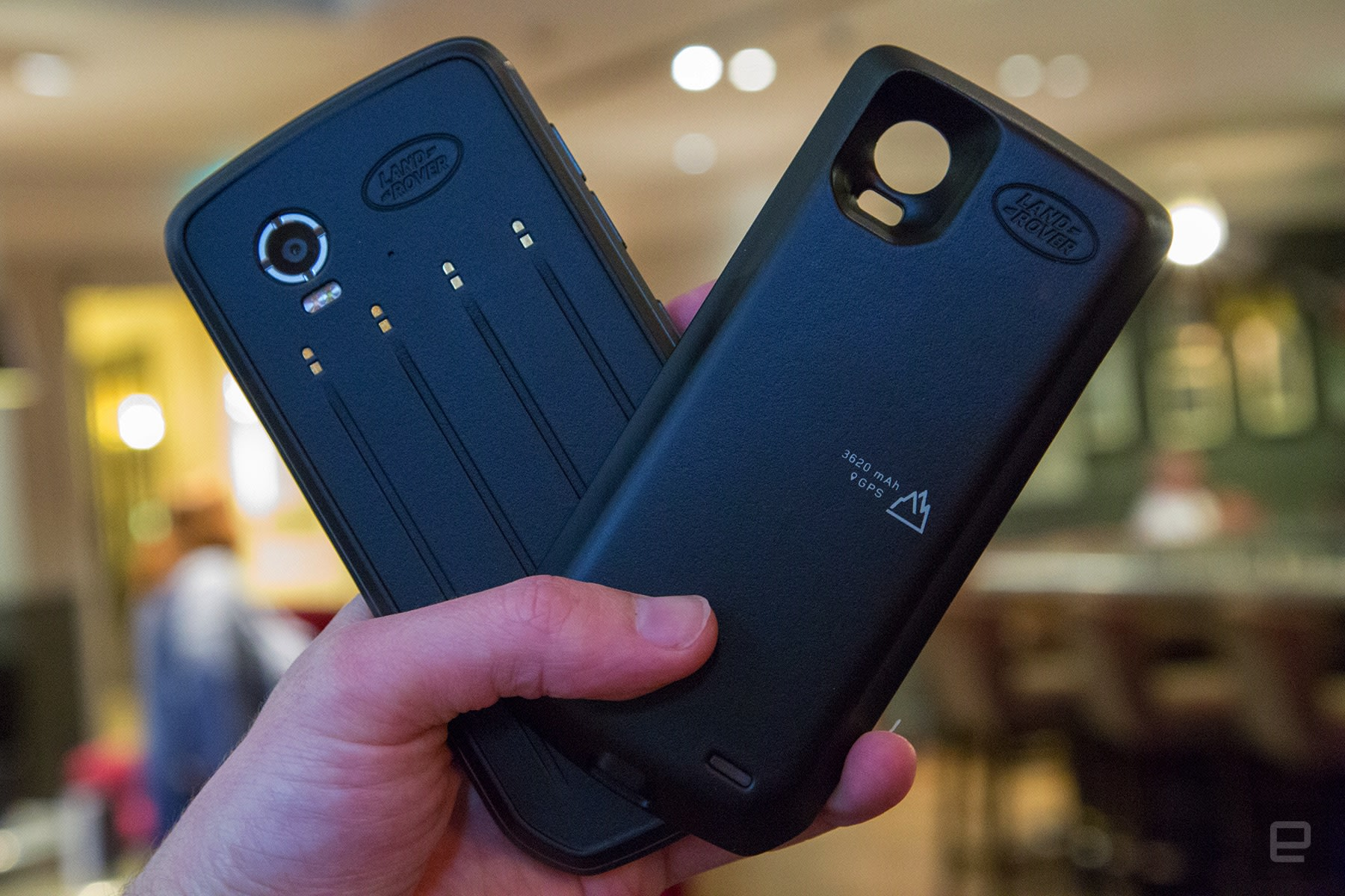 Land Rover Explore Check Out The Worlds Toughest Phone With 7600 Battery Life On Is Pretty Impressive As It Packed A Decent 4000mah Which Company Claims Can Last For 2 Days