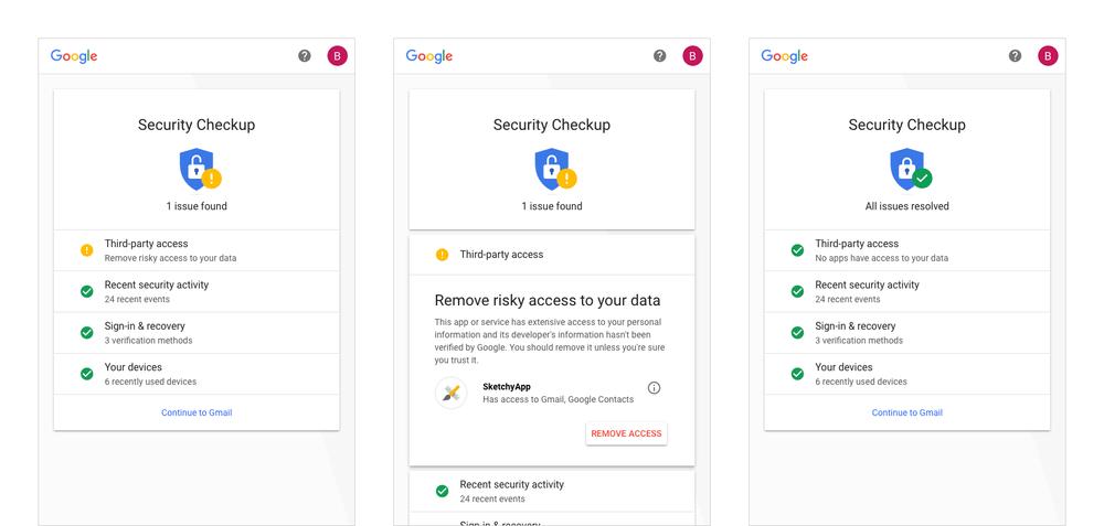 google s refined security checkup identifies account vulnerabilities