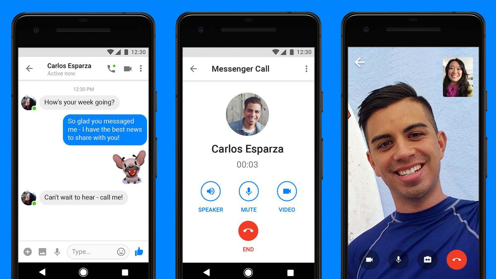 Facebook Messenger Videoanruf