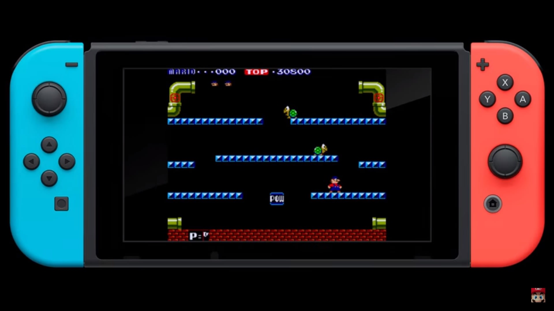 Mario bros is the switch 39 s first classic game for Housse nintendo switch mario