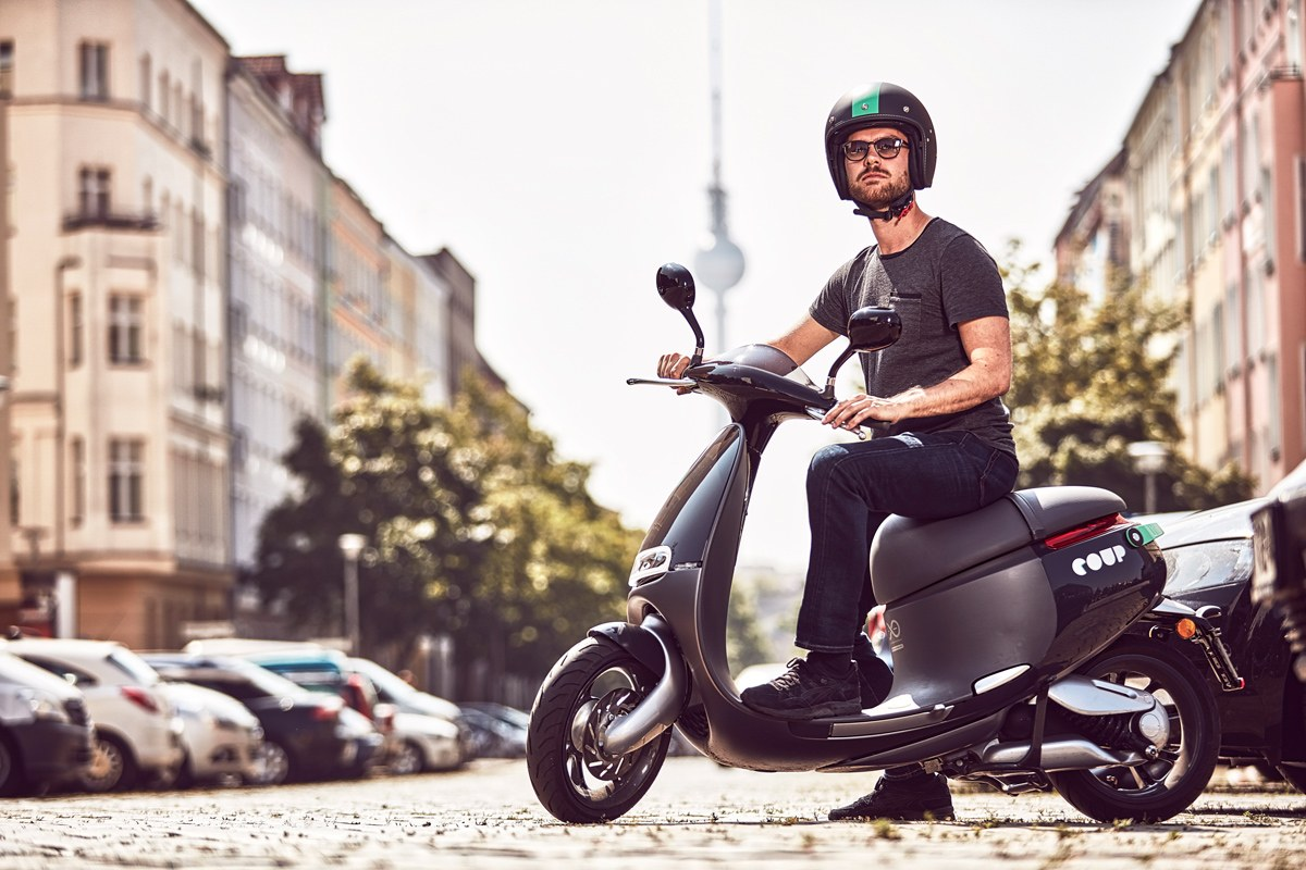 Gogoro brings on demand scooter rentals to berlin for Motorized wheelchair rental nyc