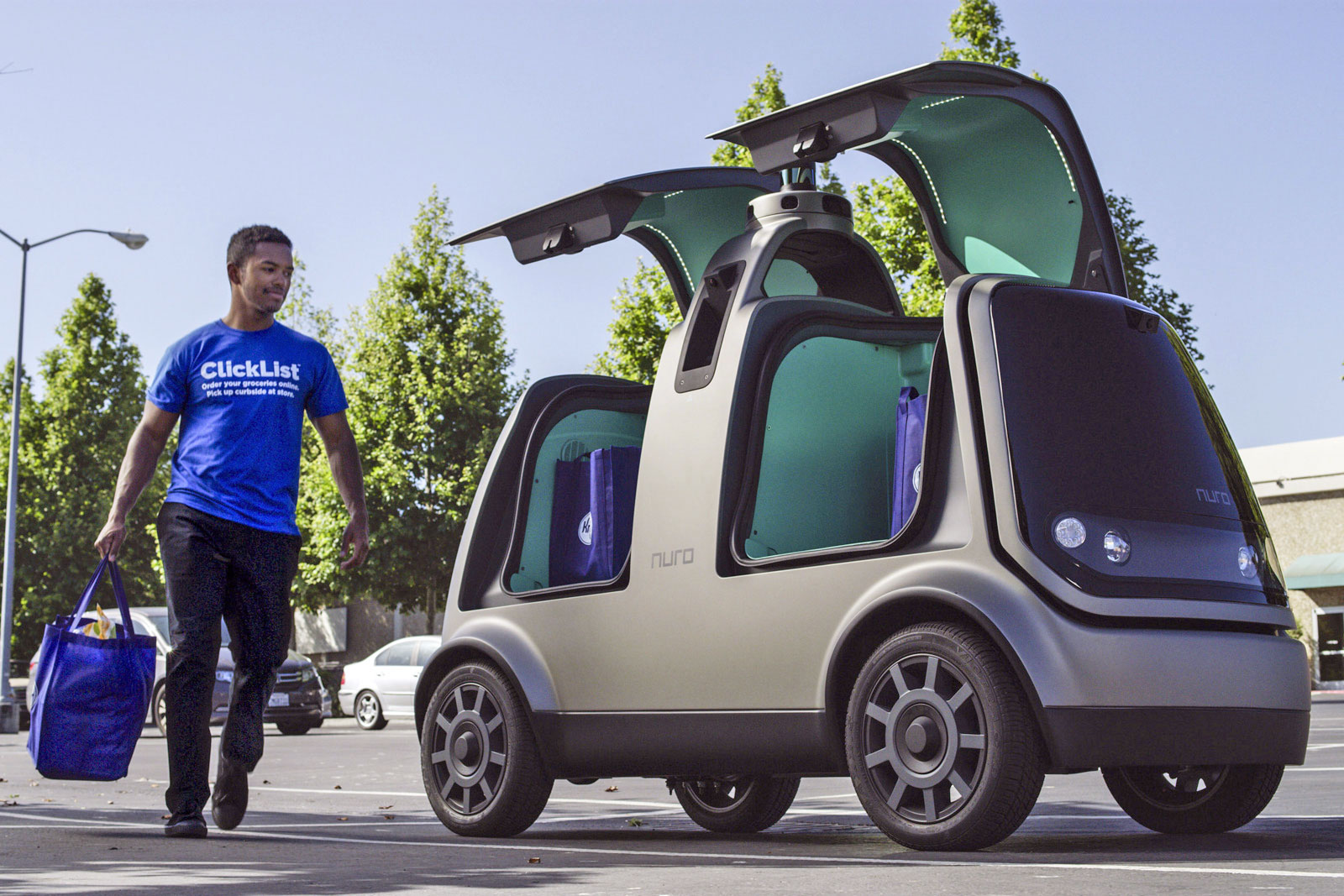 Image result for Kroger begins tests of driverless grocery delivery in Arizona