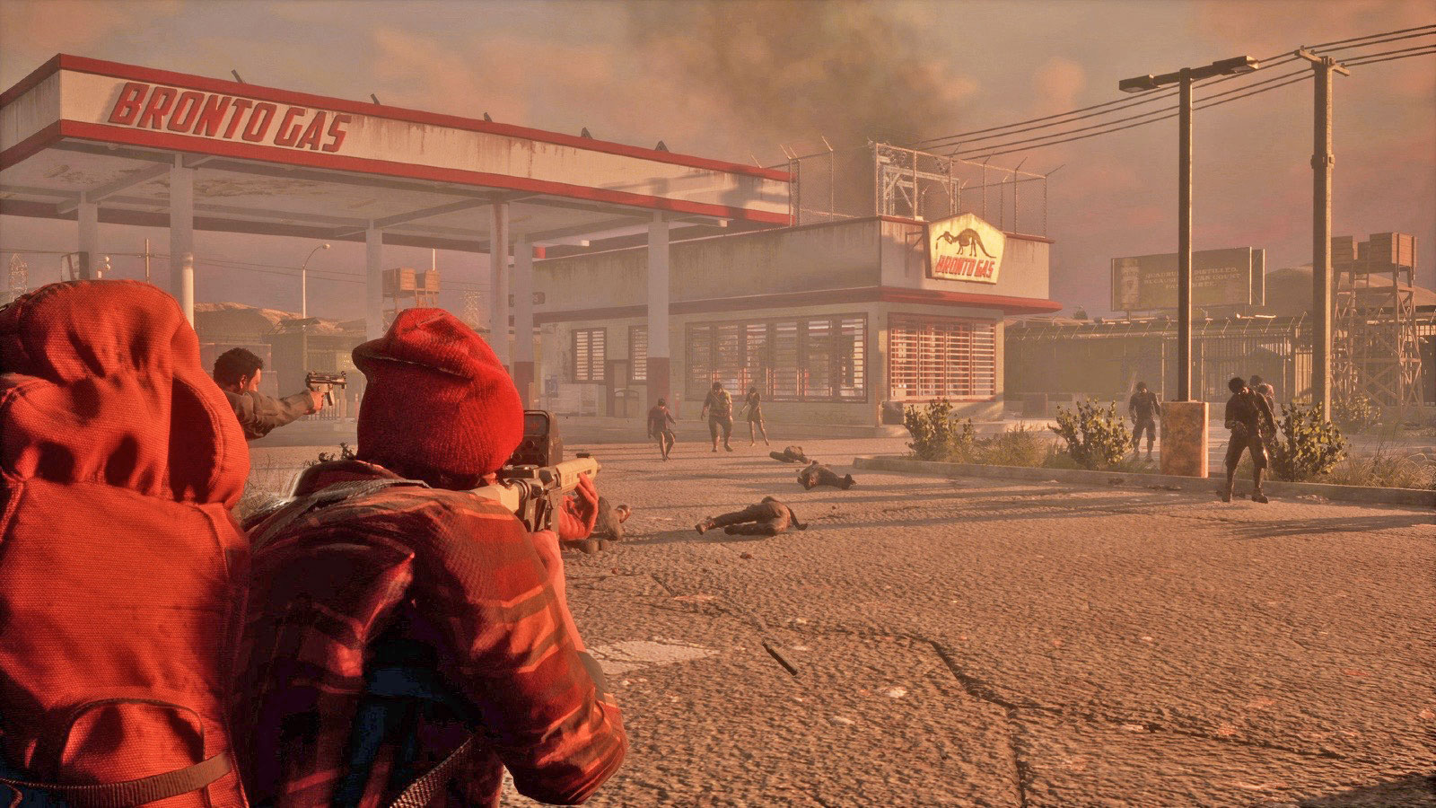 39 State Of Decay 2 39 Brings A Zombie Horde To Xbox On May 22nd