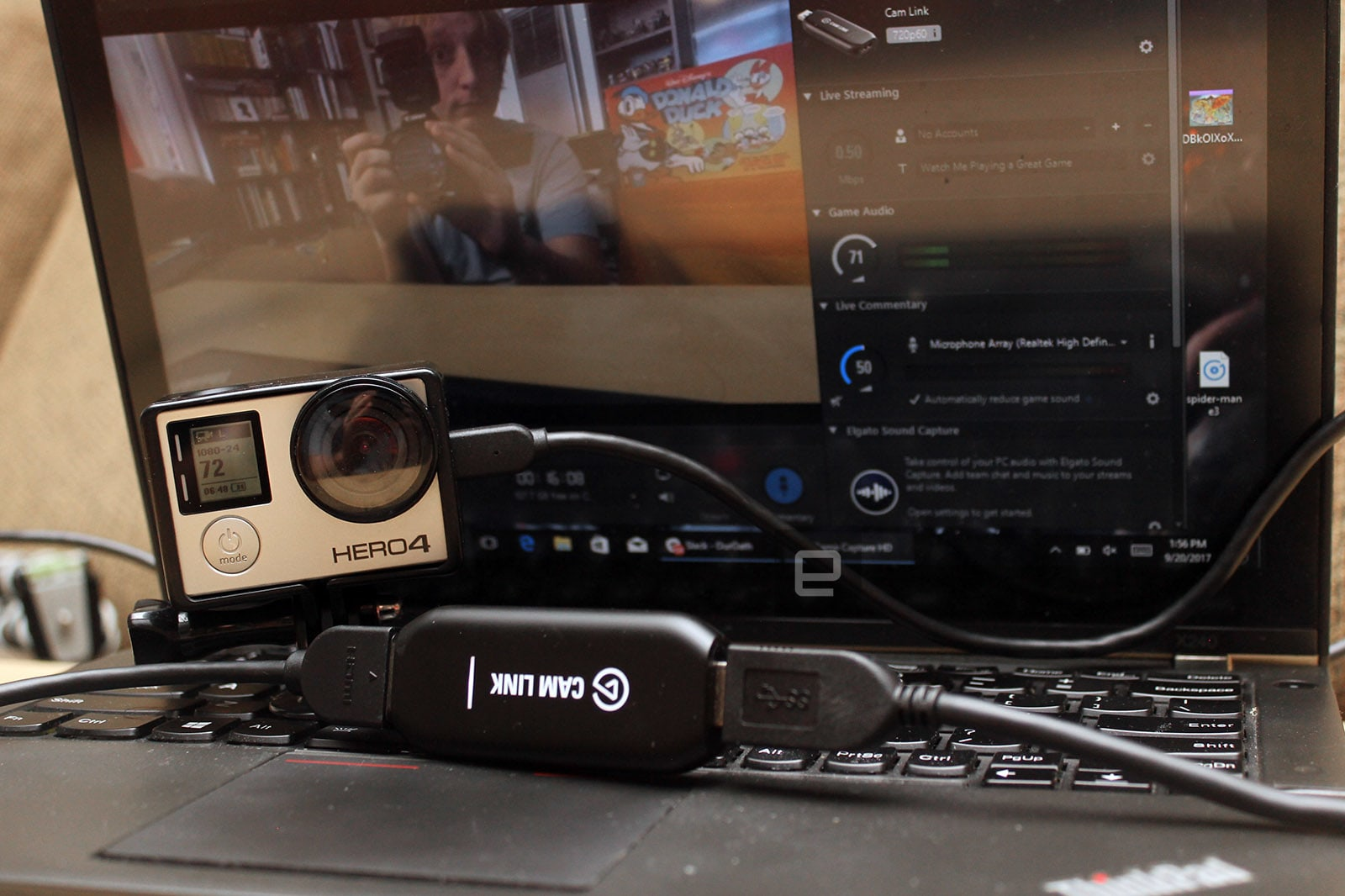 how to add webcam to elgato