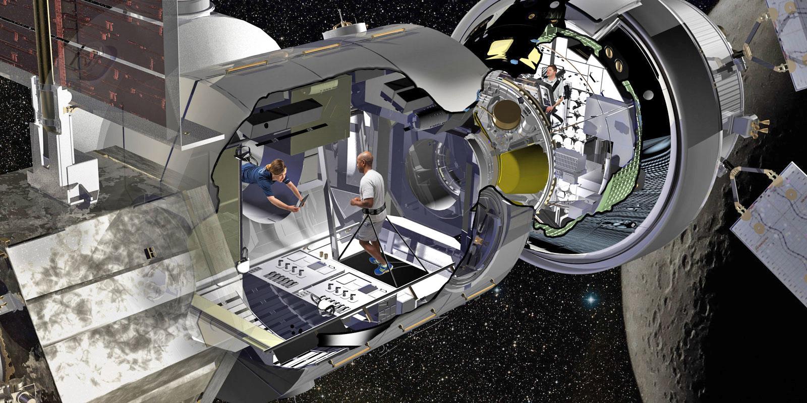 astronaut space habitat - photo #2