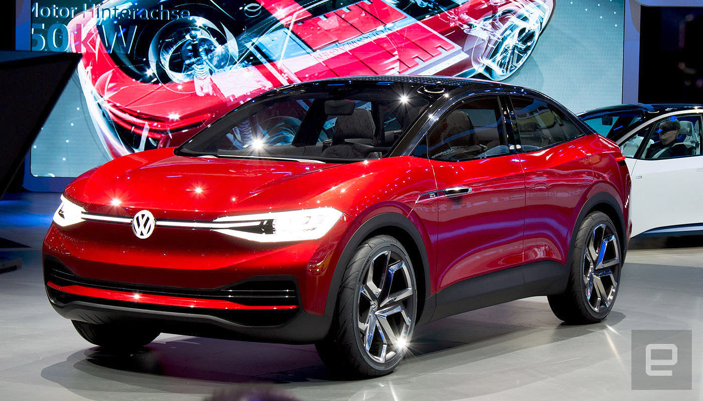 vw 39 s 39 affordable 39 crossover ev comes to the us in 2020. Black Bedroom Furniture Sets. Home Design Ideas