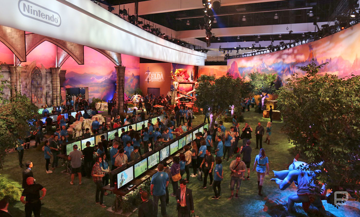 nintendos e3 zelda booth is almost as good as the game