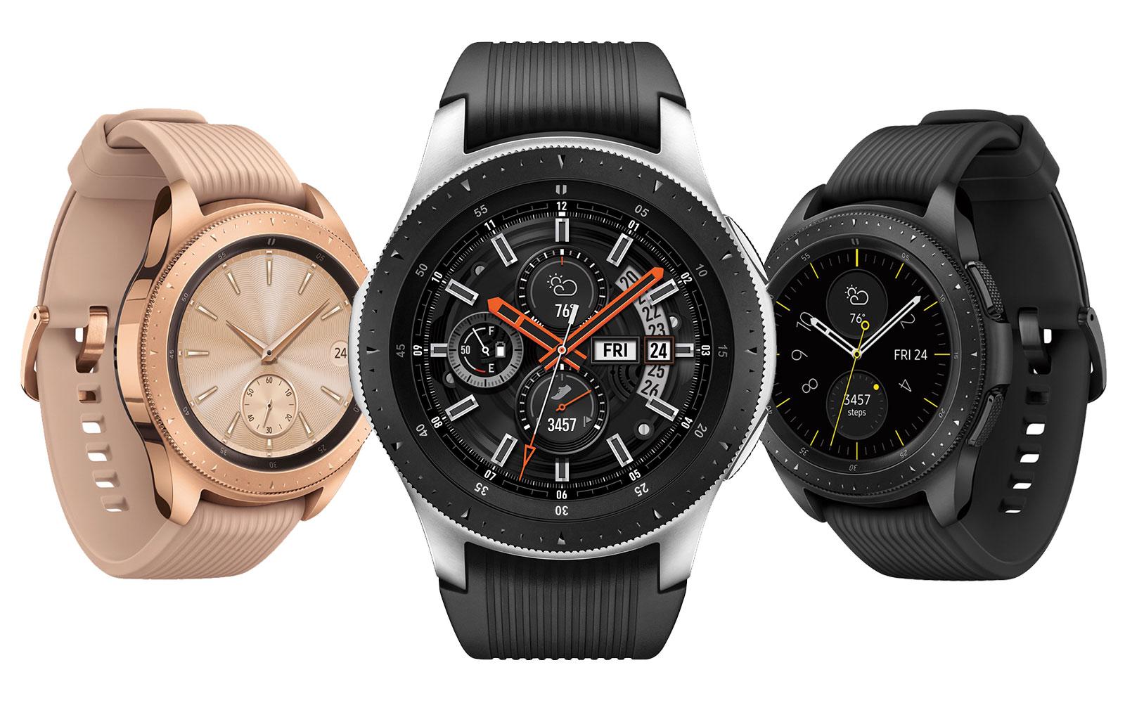 samsung s galaxy watch looks like a real watch