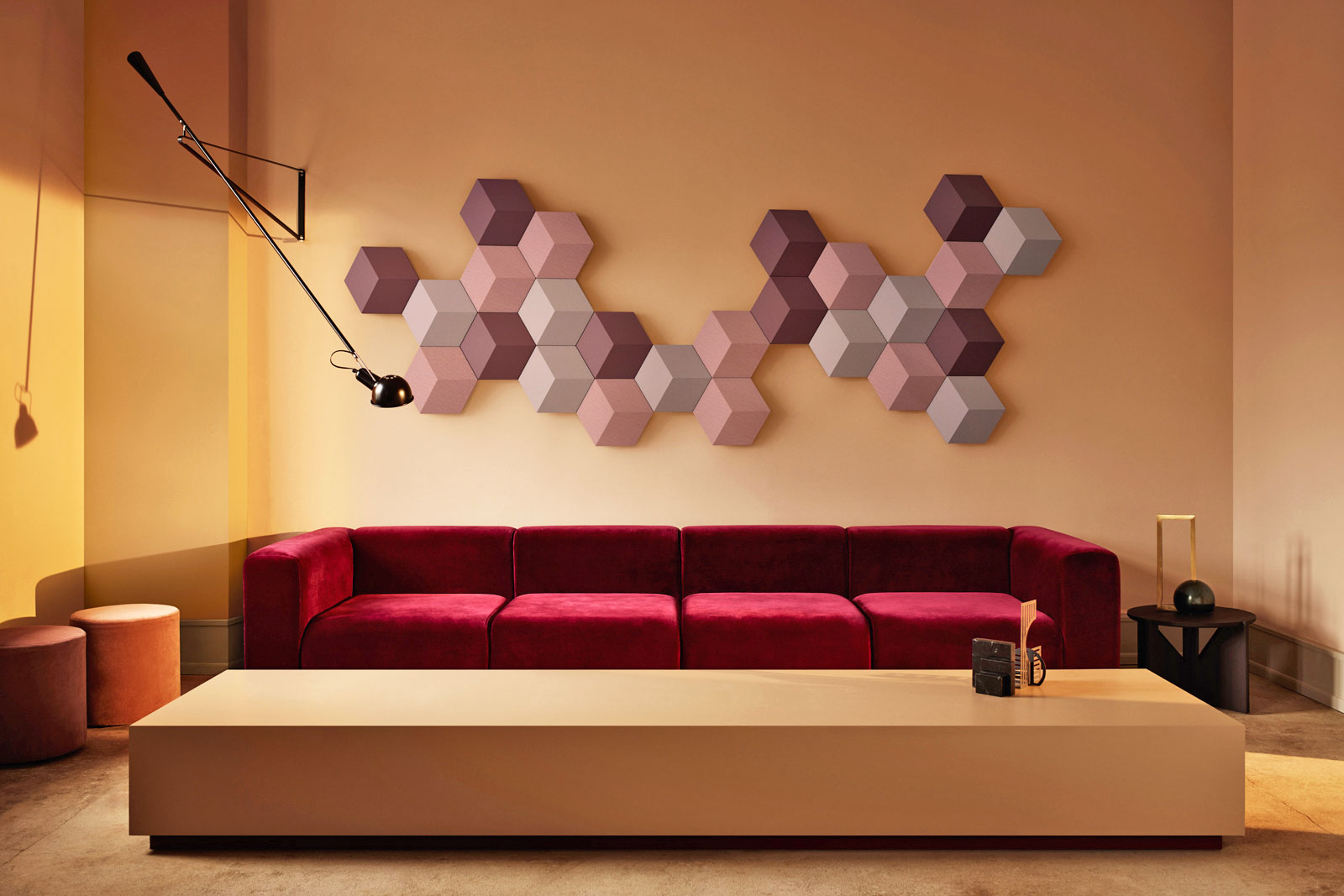 bang olufsen 39 s modular speakers double as wall art. Black Bedroom Furniture Sets. Home Design Ideas