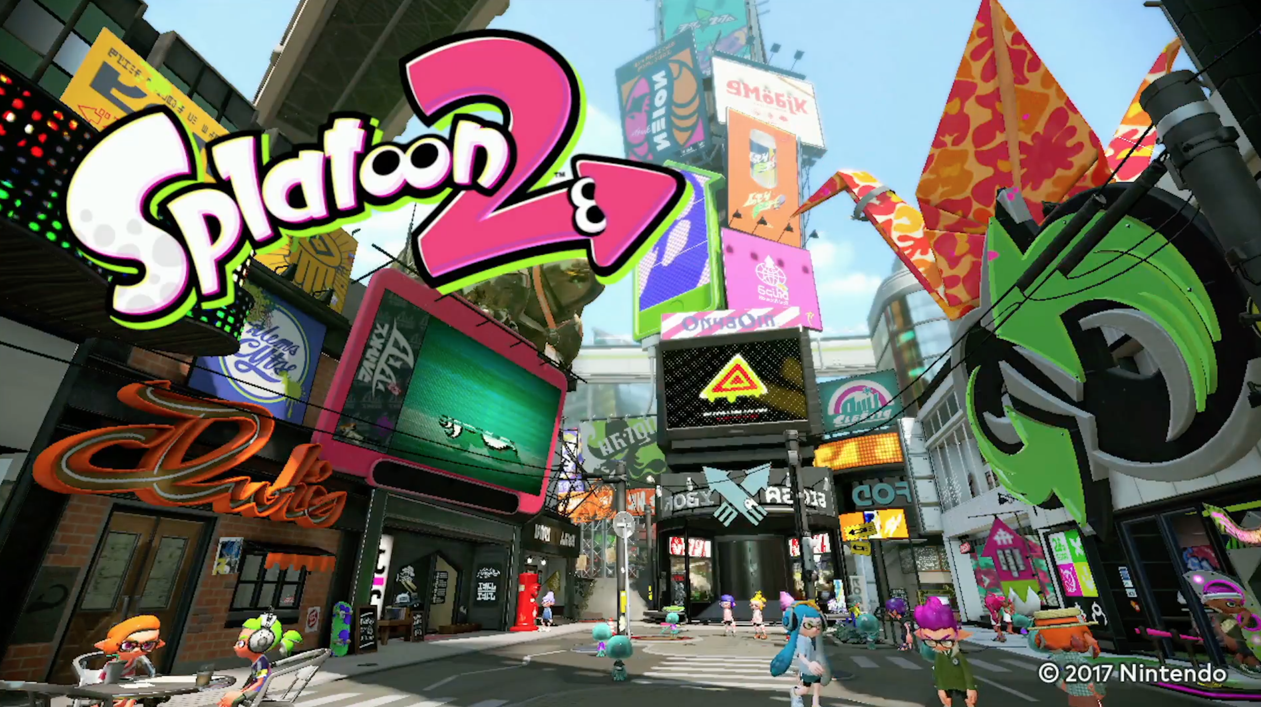 splatoon 2 brings new weapons stages and fashion to nintendo switch