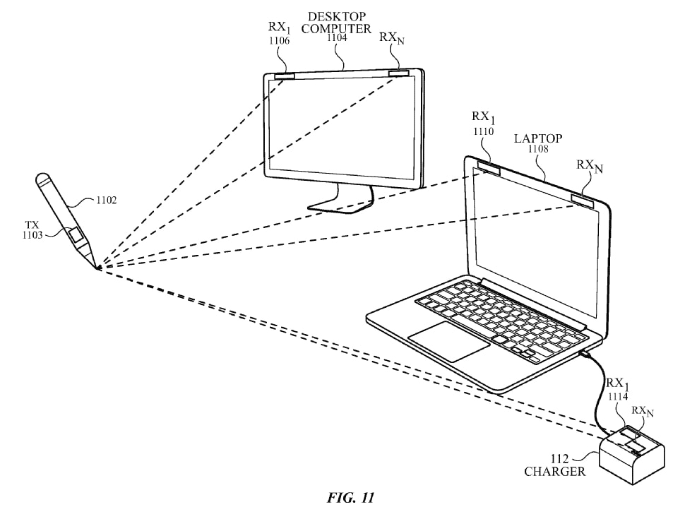 Apple's latest patent teases a Pencil that can draw in mid-air