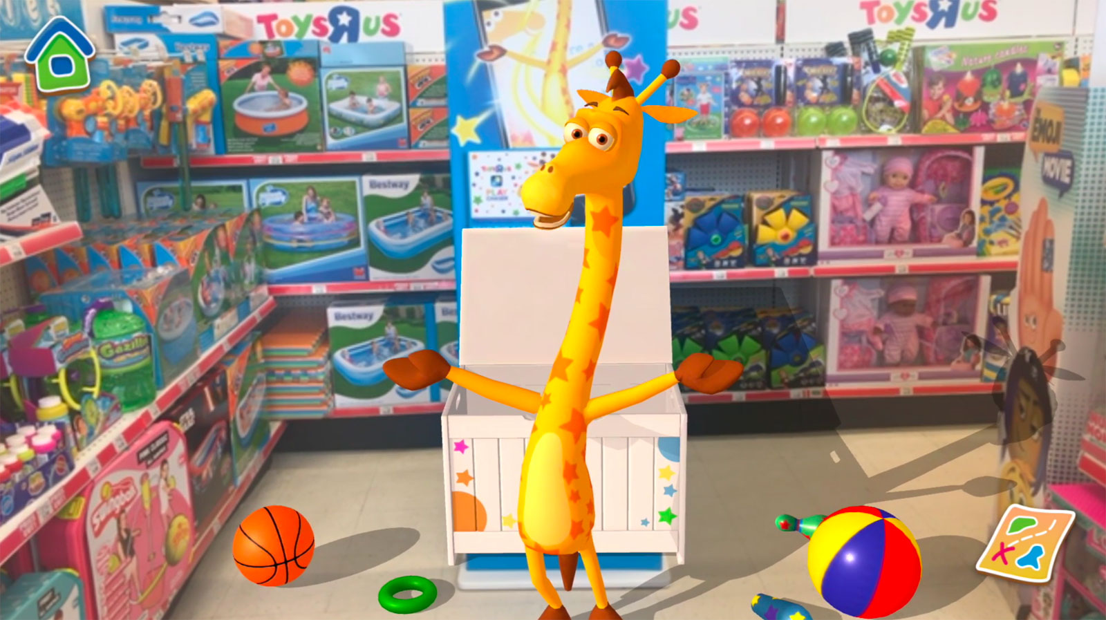 Toys R S : Toys r us hopes ar will bring you back to its stores