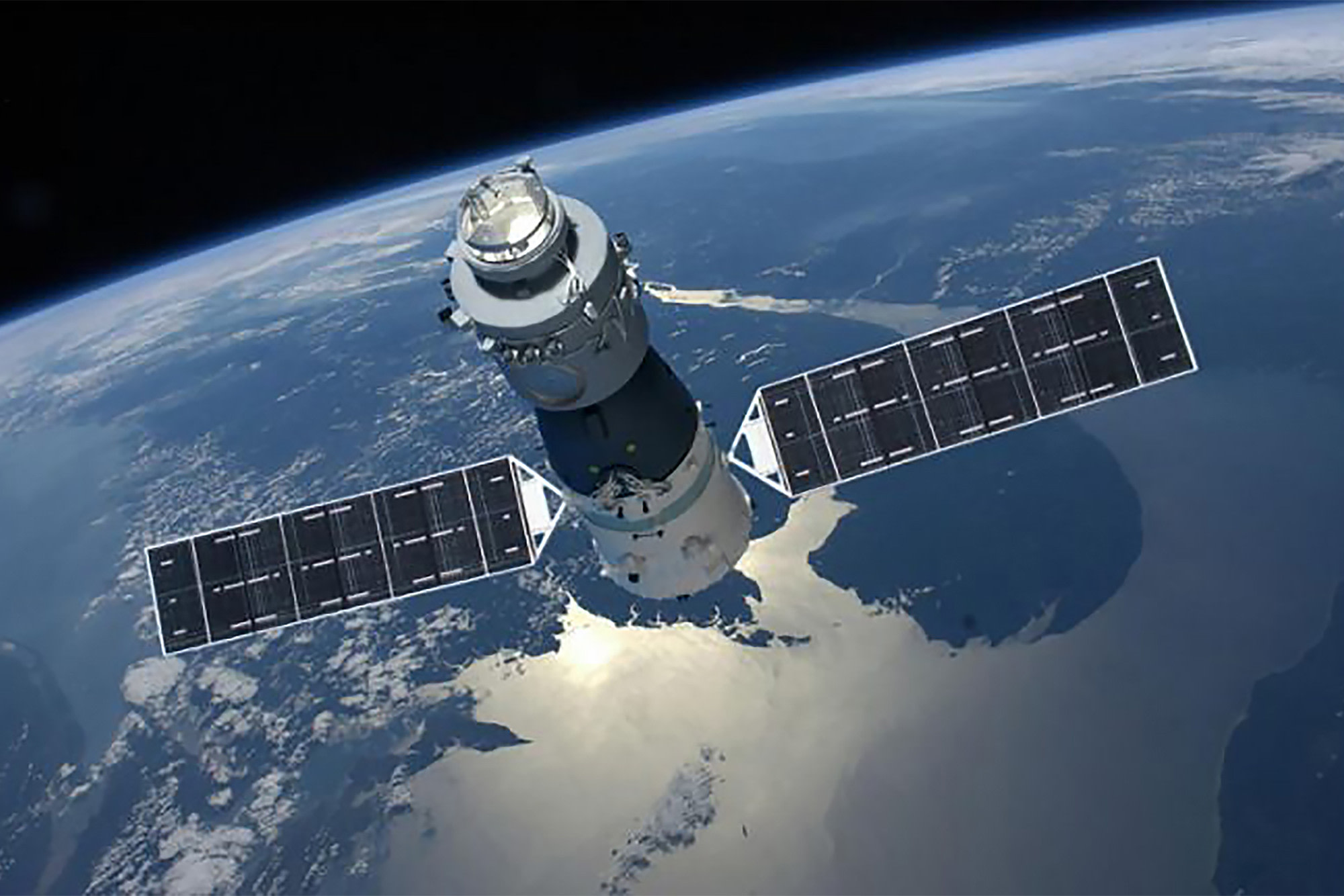 China's first space station will hit the Earth's ...