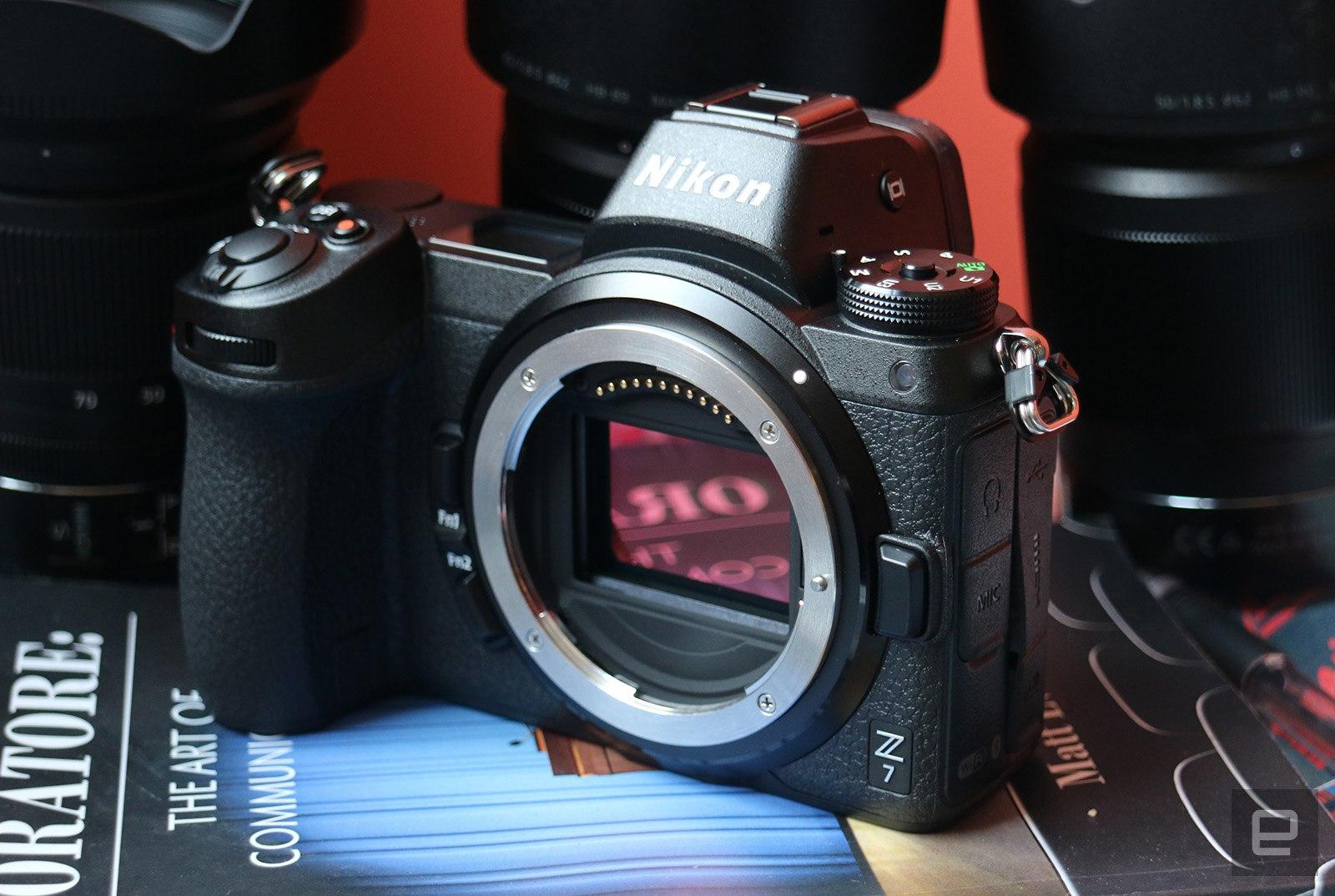 Nikon\'s Z7 mirrorless camera is a full-frame 45.7-megapixel beast