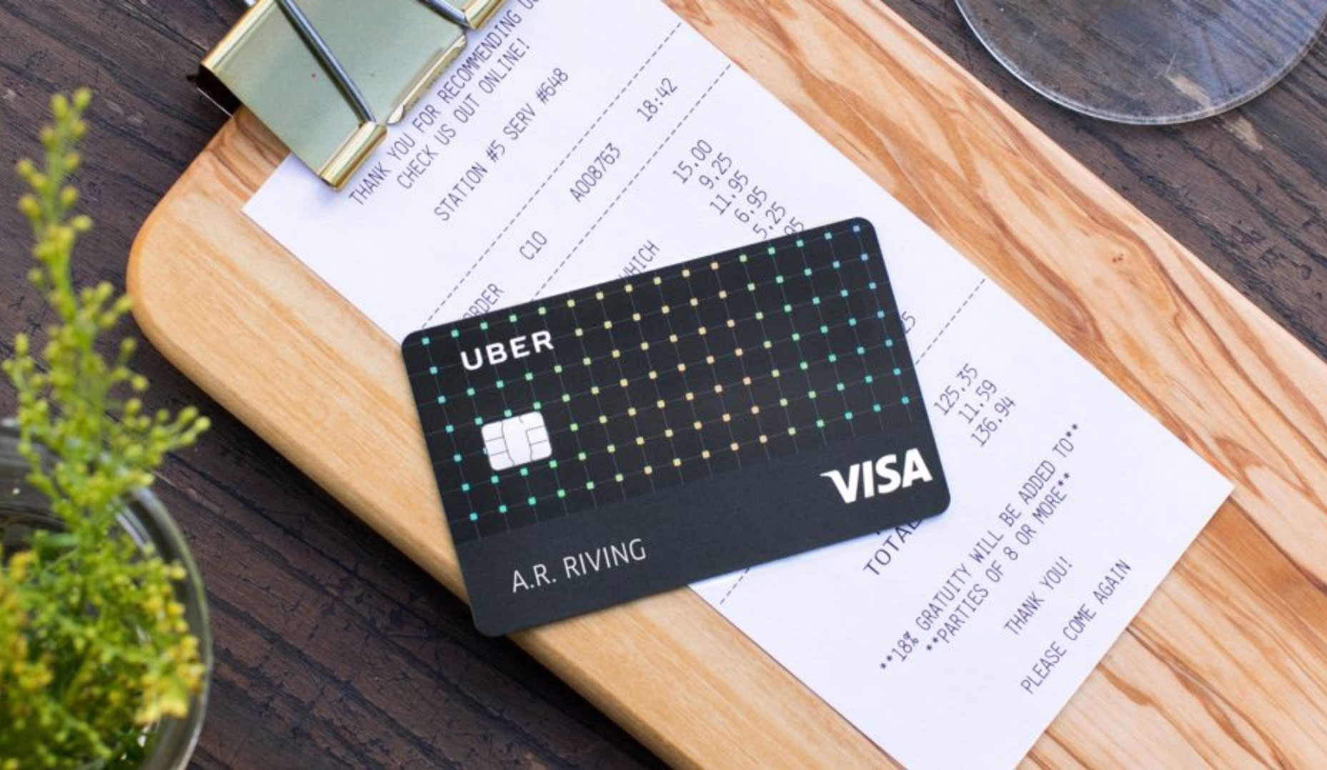 how to change credit card info in uber