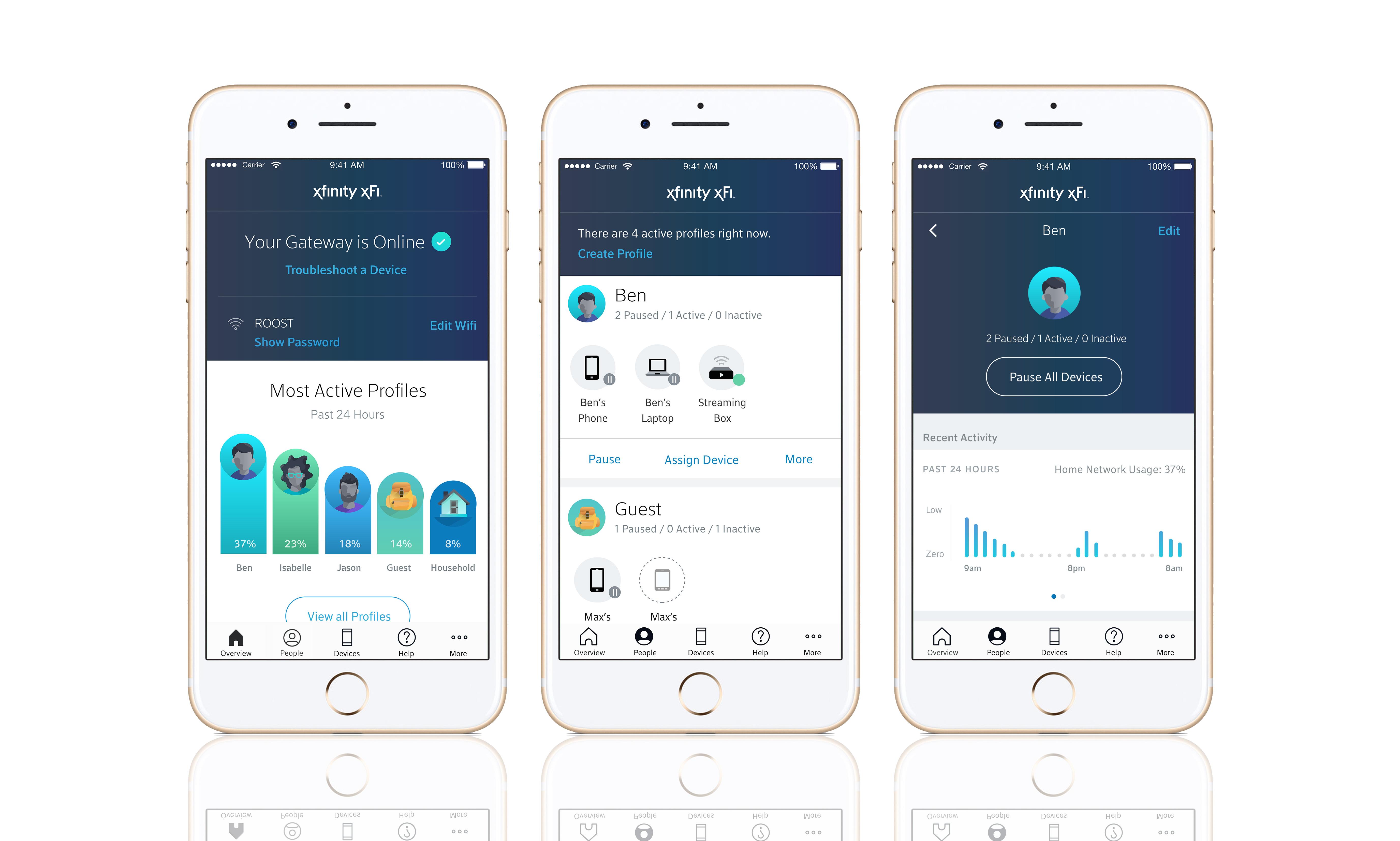 Comcast S Xfi App Makes Setting Up Your Parents Wifi Less