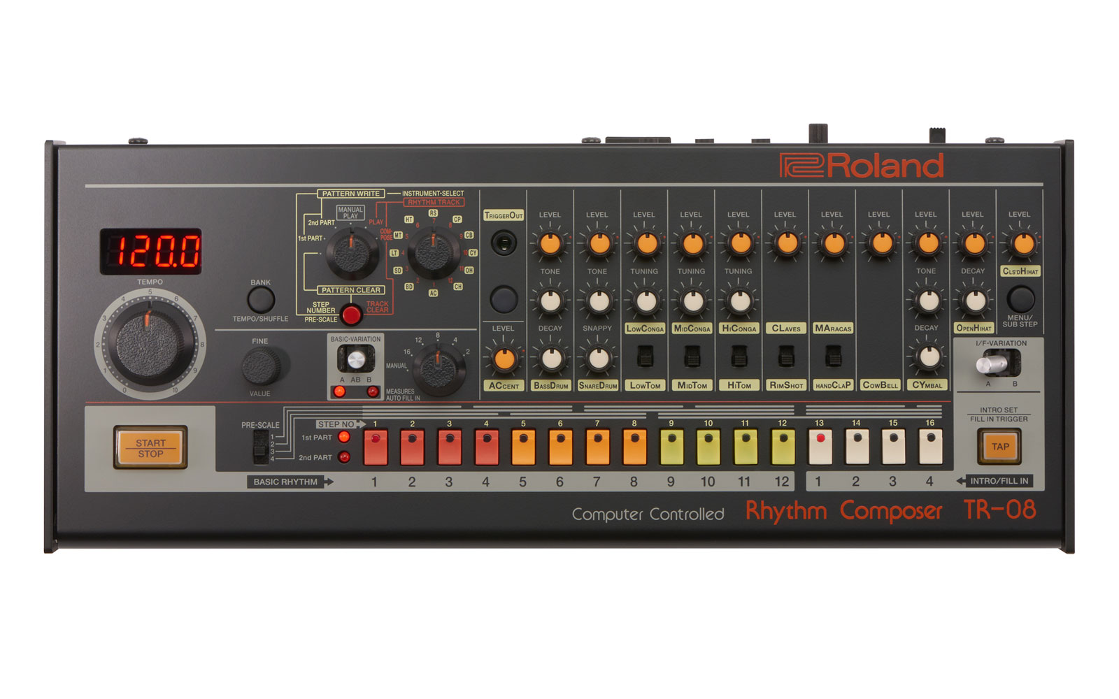 roland 39 s revival of the iconic tr 808 makes classic sounds portable. Black Bedroom Furniture Sets. Home Design Ideas