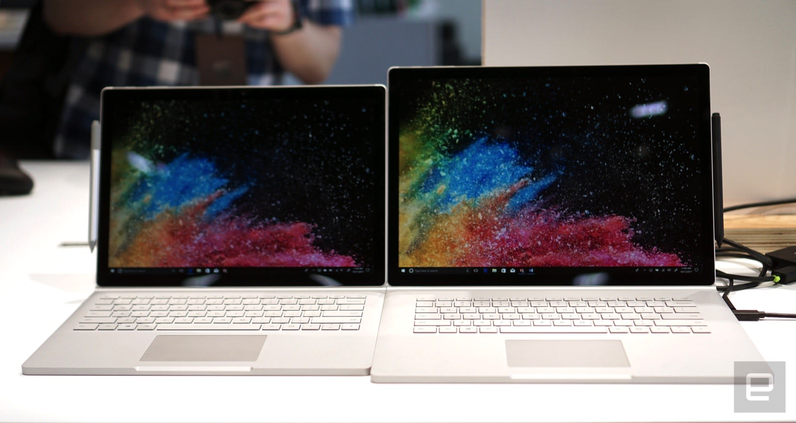 microsoft 39 s surface book 2 includes a brawnier 15 inch version. Black Bedroom Furniture Sets. Home Design Ideas