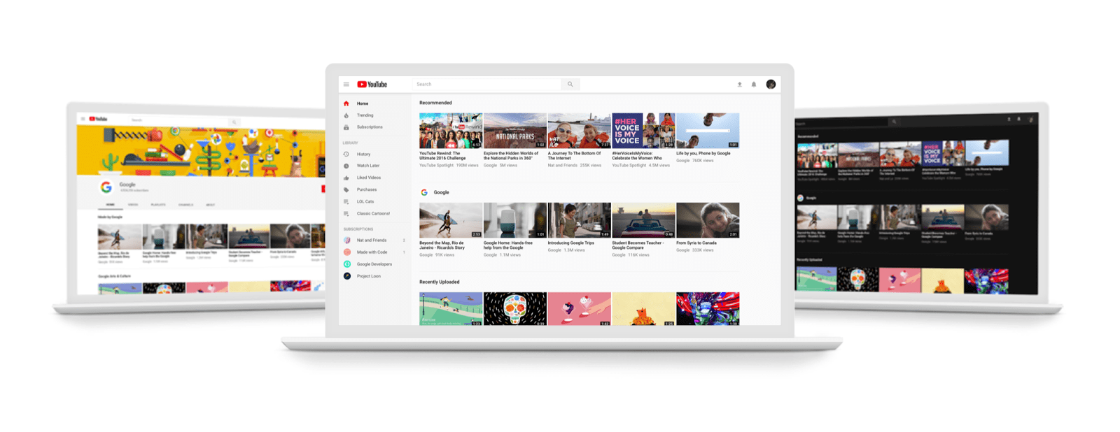 youtube s big desktop redesign is now available to everyone