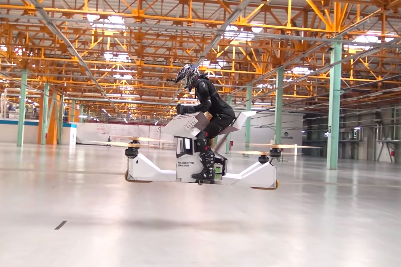 Piloted Hoverbike Redefines Dangerous