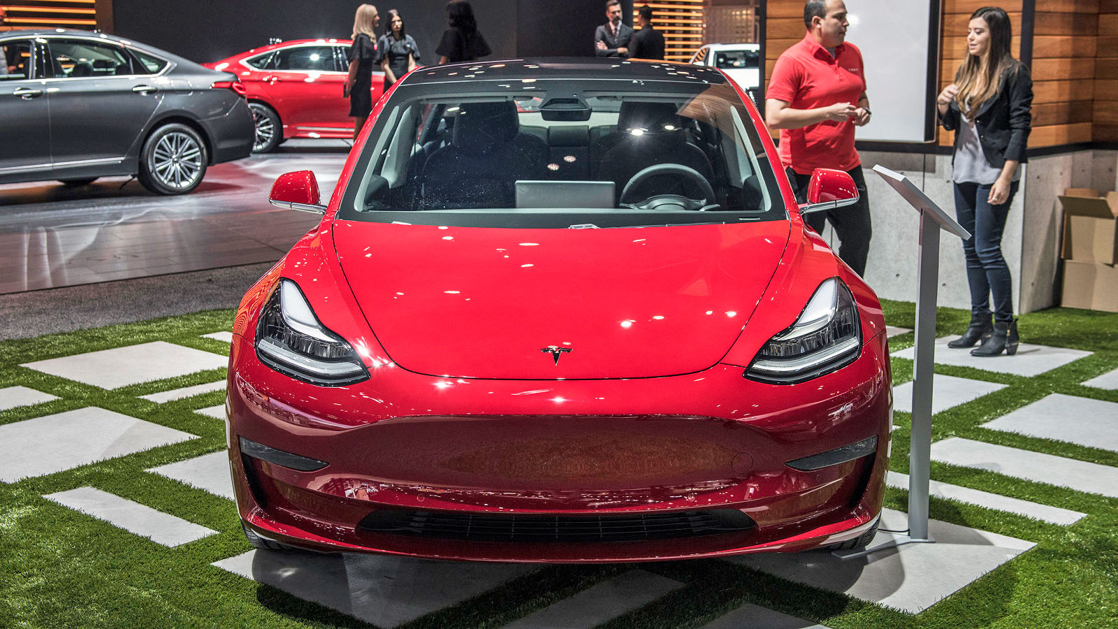 Tesla's Model 3 catches up on Autopilot and WiFi features