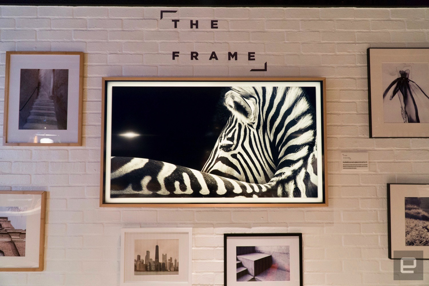 Samsung\'s The Frame TV blends in with the art on your wall