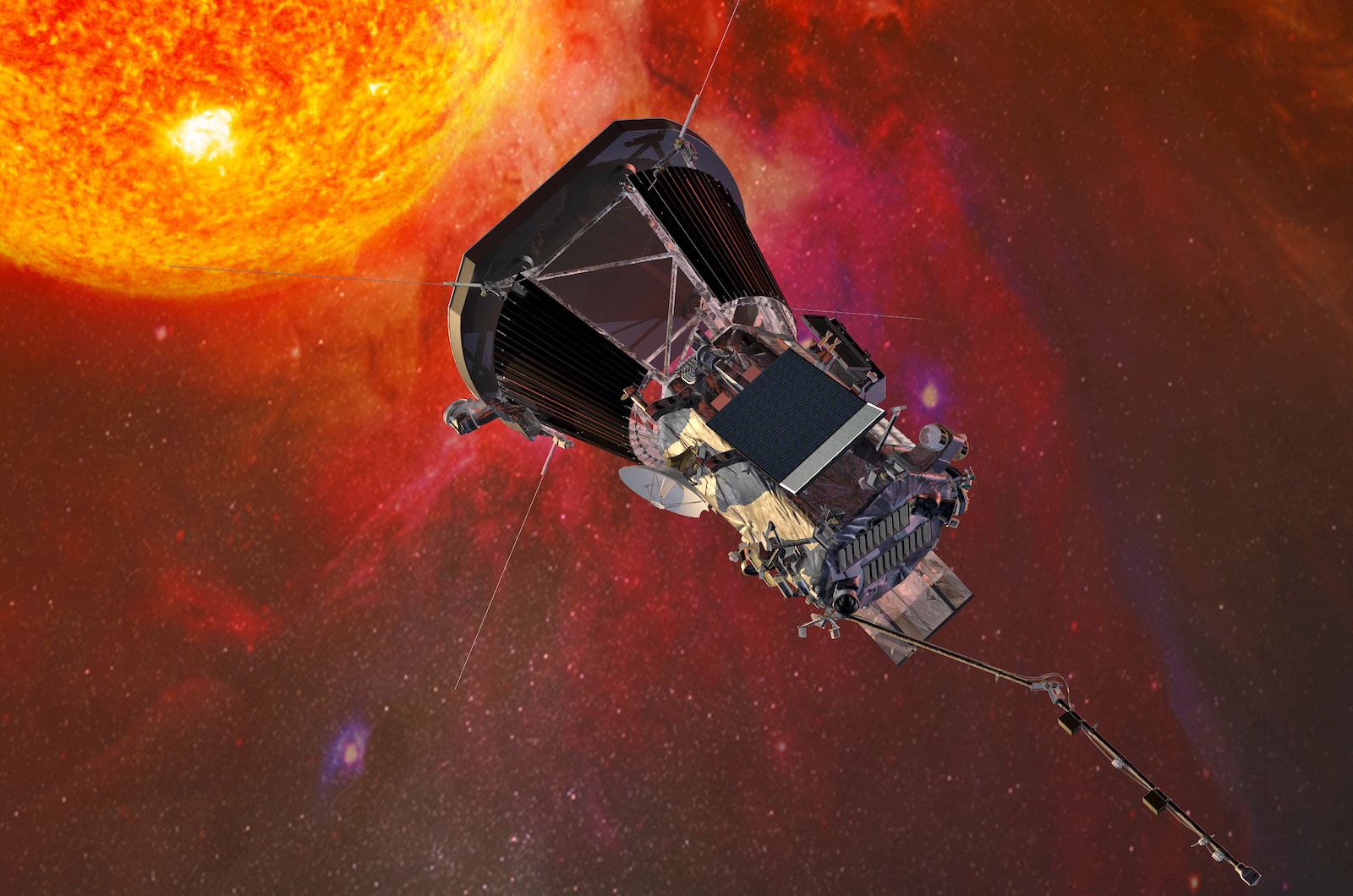 NASA's first mission to touch the sun launches in 2018