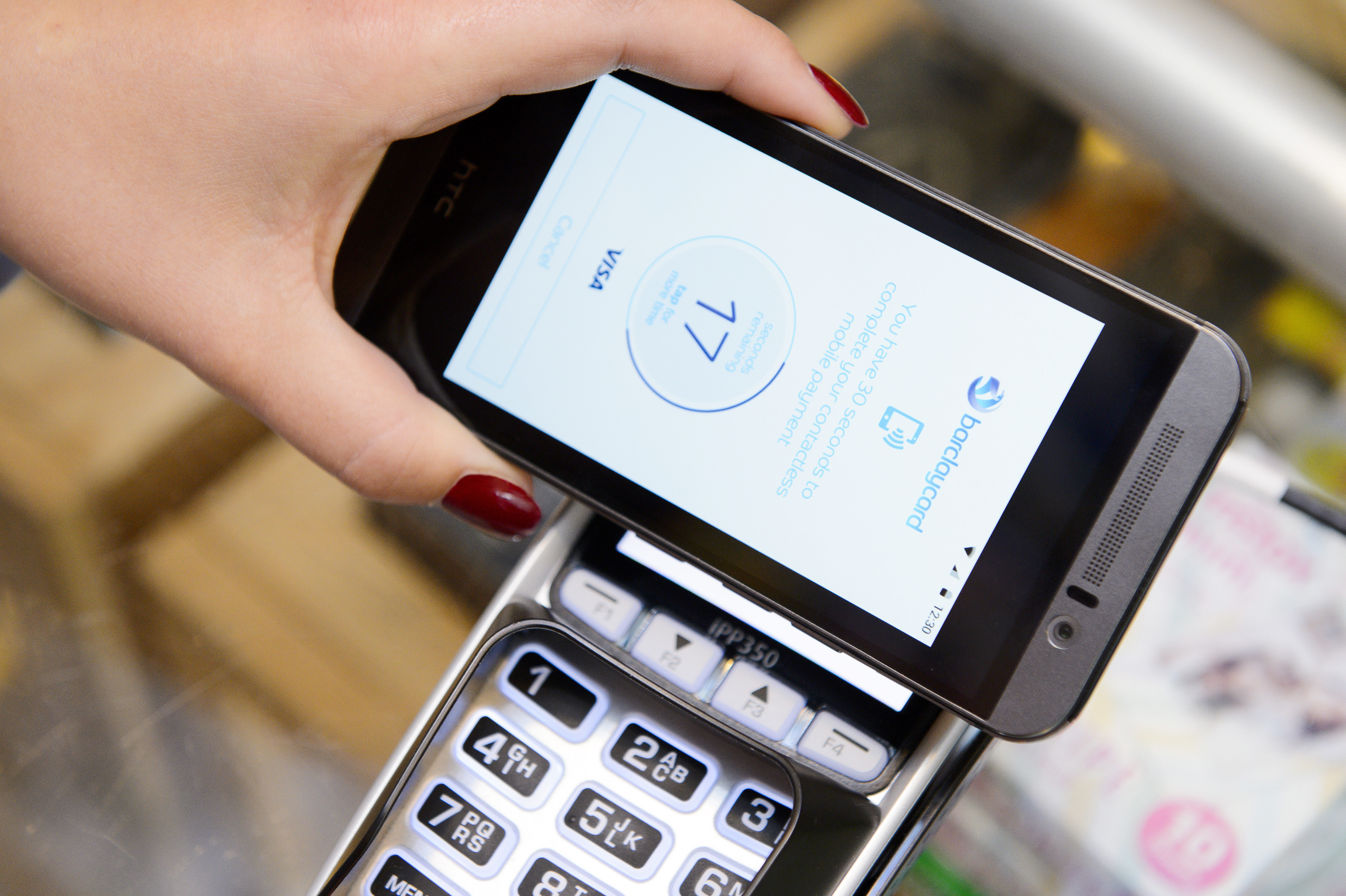 barclaycard brings nfc payments to its android app. Black Bedroom Furniture Sets. Home Design Ideas