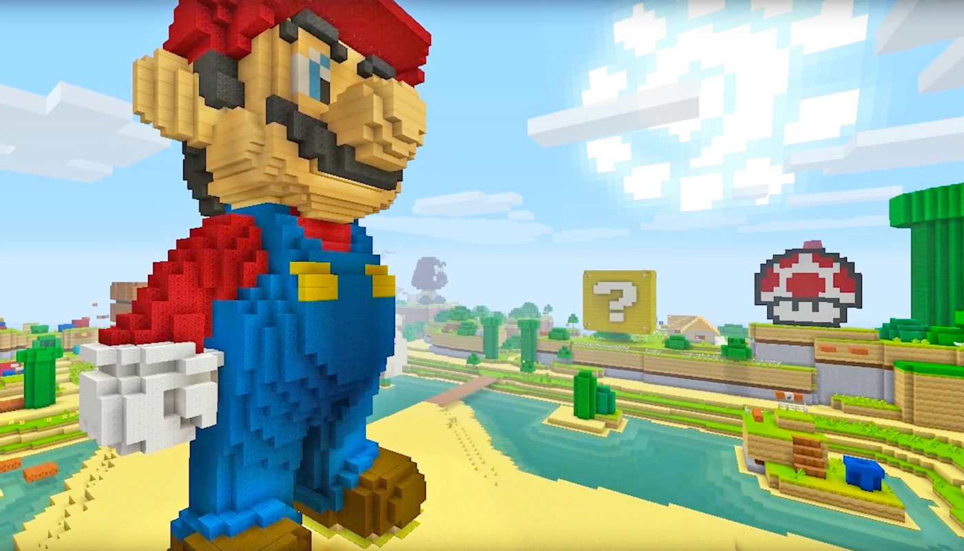 Super Mario Is Coming To Minecraft Wii U Edition - Minecraft wii spielen