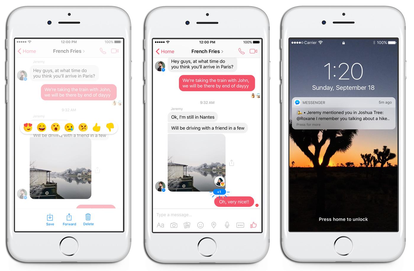 how to share pdf files through messenger