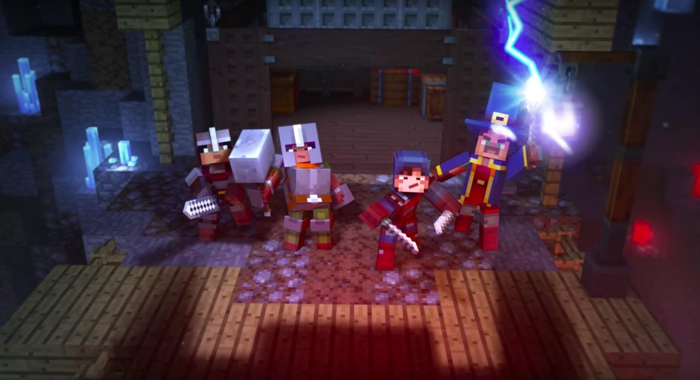 Afbeeldingsresultaat voor minecraft: dungeons