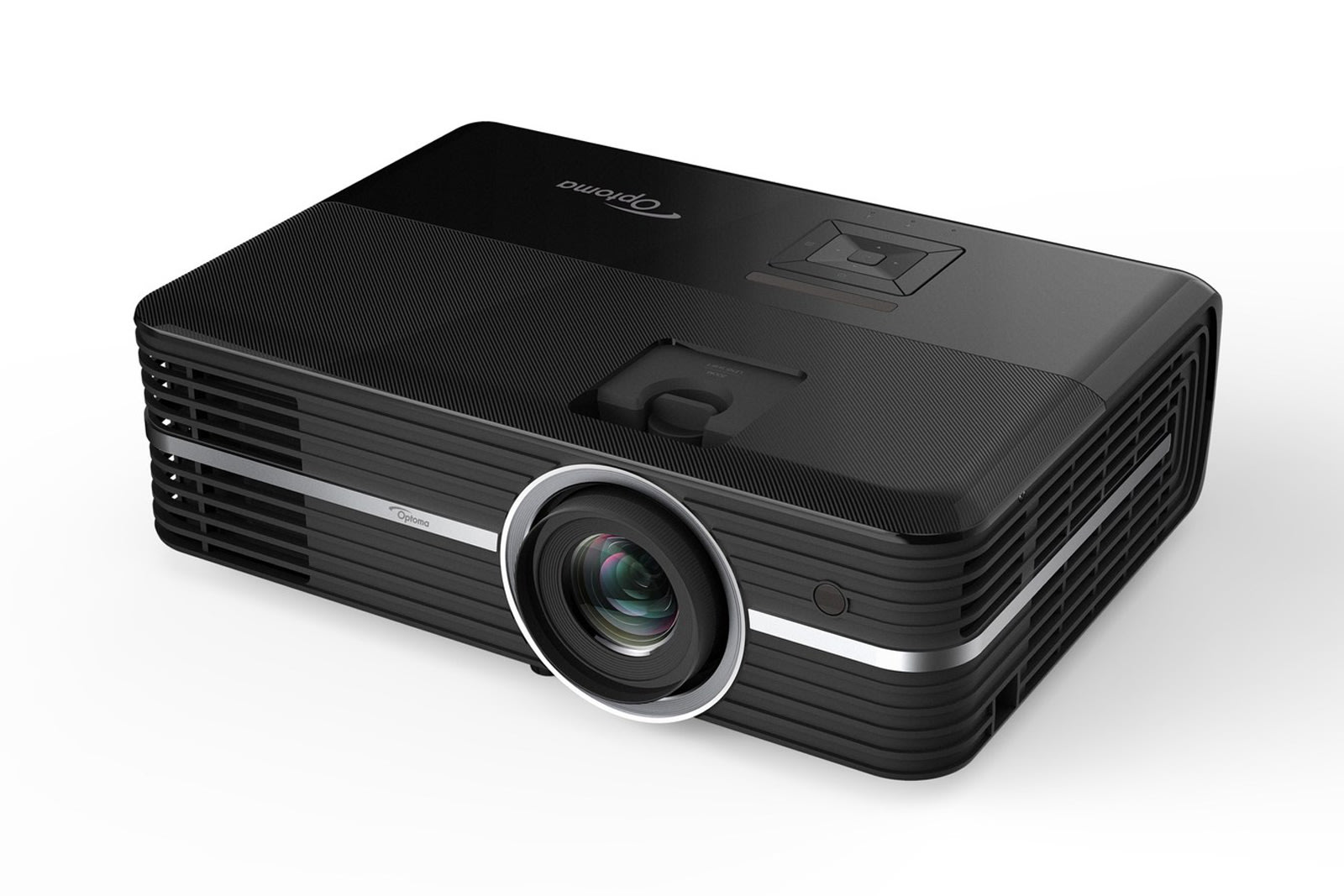 how to set up optoma projector to laptop