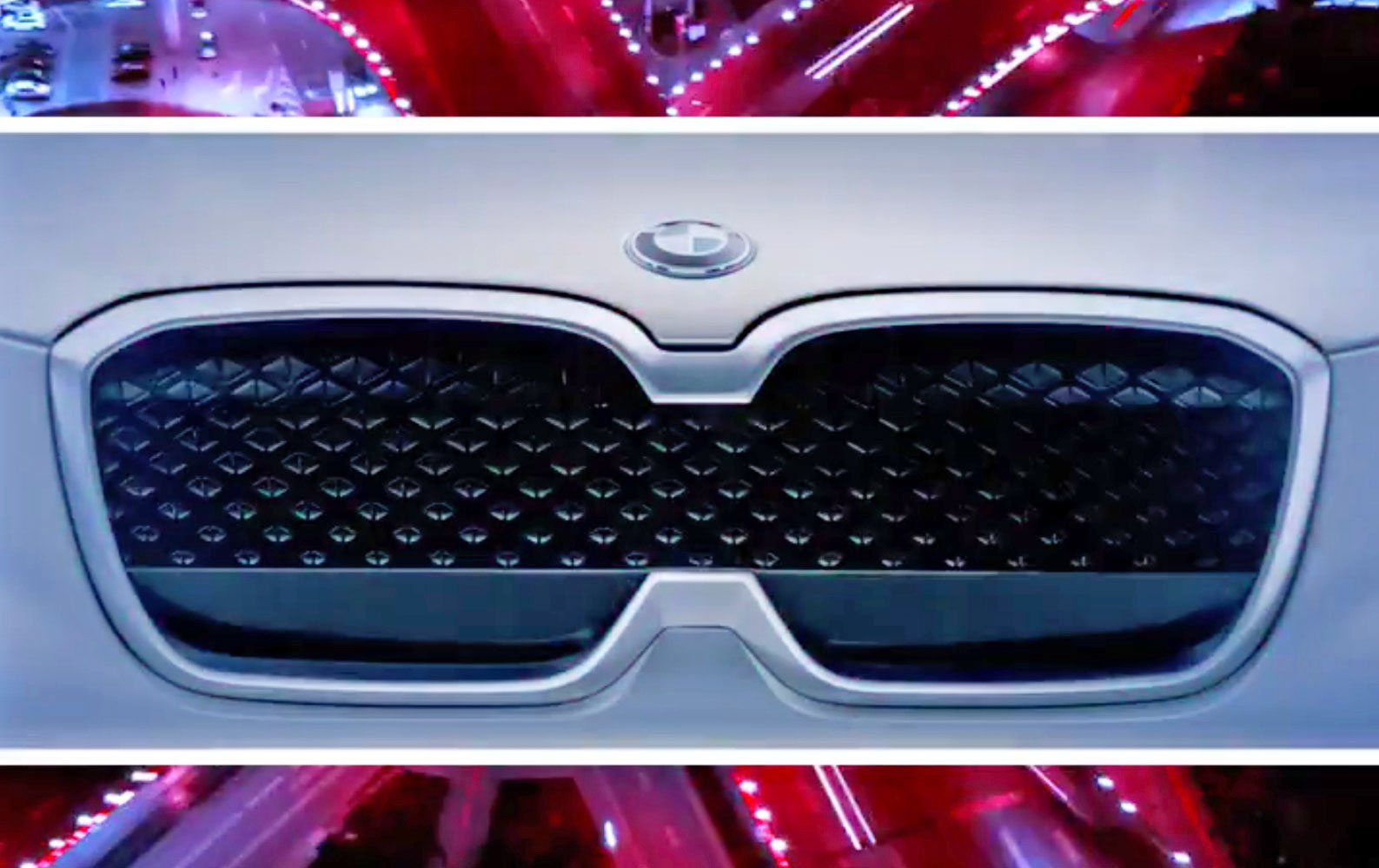 bmw releases a teaser for the ix3 its first all electric suv. Black Bedroom Furniture Sets. Home Design Ideas