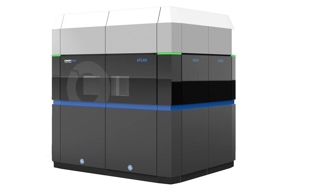 ge s huge 3d metal printer makes aircraft parts. Black Bedroom Furniture Sets. Home Design Ideas