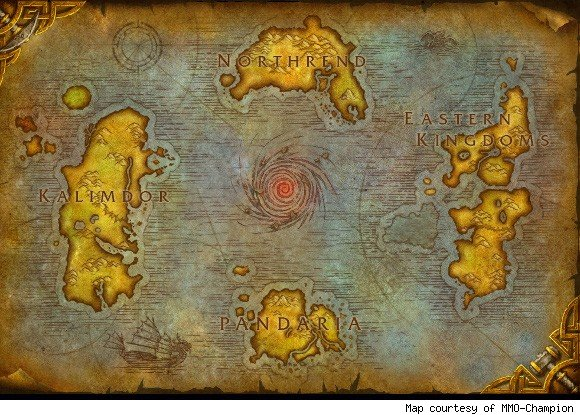 The top 10 most beautiful spots in wow image credit gumiabroncs Images