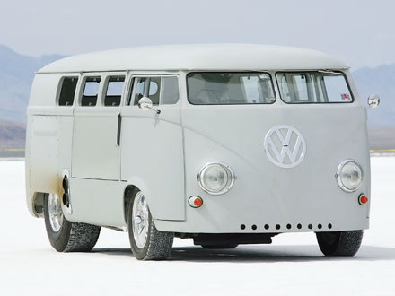 1962 Vw Bus Gutted Filled With Giant Hot Rod Engine