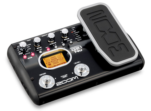 zoom g2nu and g2 1nu guitar effects pedals offer direct usb recording. Black Bedroom Furniture Sets. Home Design Ideas